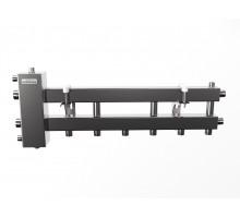 BMSS-100-4D (до 100 кВт, подкл. котла G 1¼″, 3+1 контура G 1″, зеркально-матовая полировка)