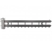 Гидрострелка с коллектором на 7 контуров до 150 кВт (балансировочный коллектор из нержавеющей стали BMSS-150-7D)